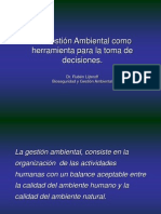 Gestion Ambiental Herramienta de Toma de Decisiones