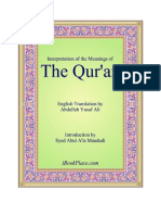 The Quran Translation AbdullaYusuf Ali