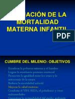 Diapositivas de Mortalidad Materno Infantil