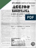 11Acción Libertaria, Nº 11. Marzo 1935
