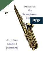 Ianandrewsmith Saxscales and Arpeggios
