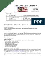 20140516 Guitars 4 Vets-Loma Linda Newsletter