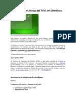 Configuración Básica Del DNS En