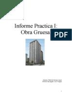 Informe Practica I Obra Gruesa