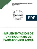 2. Implementacion Programa de Farmacovigilancia