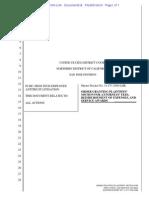 Order Granting Plaintiffs' Motion for Attorneys' Fees, Reimbursement of Expenses, And Service Awards
