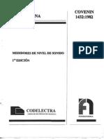 1432-82 Medidores de Nivel de Sonido