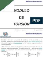 Modulo de Torsion