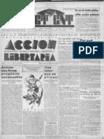 Acción Libertaria, Nº 21. Octubre1936