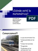 Dónde Está La Matemática