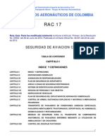 Www.aerocivil.gov.Co AAeronautica Rrglamentacion RAC Biblioteca Indice General RAC 17