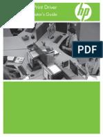 HP Universal Print Driver UserGuide