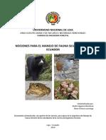 Nociones para el manejo de la fauna silvestre del Ecuador.pdf