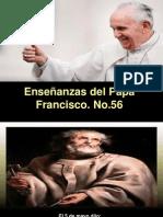 Enseñanzas Del Papa Francisco - Nº 56