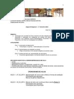 Ementa E Cronograma LPI 2014