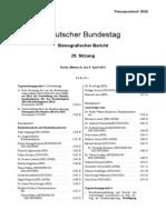 Plenarprotokoll Bundestag 9. April 2014