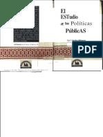 El Estudio de Las Politicas Publicas. Luis Aguilar Villanueva