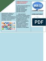 QUÉ ES LA WEB 2