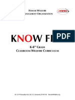 HWMO Know Fire K-8th Curriculum