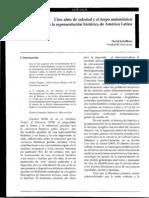Cien Años de Soledad y El Tropo Metonímico en La Historia de a.L. (1)