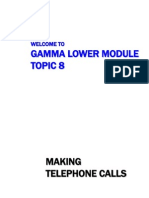 GLM 2013 Topic 08 - Telephone Calls