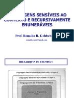 07 - Linguagens Sensiveis Ao Contexto e Recursivamente Enumeraveis