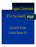 Aircraft Engine Lubrication
