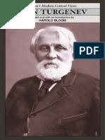 HAROLD BLOOM [ED] ► Ivan Turgenev