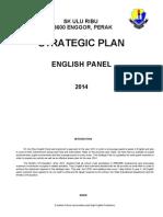 Pelan Strategik English Panel 2013