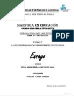 Problemas Educativos en La Institucion