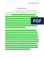 individual learning plan importance- part a docx edited