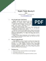 Septic Tank Biority-tFa
