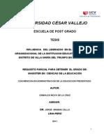 Tesis Influencia Del Liderazgo en Clima Organizacional Doc
