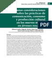 Consumosl Culturales Tics Articulo Colectivo Unr
