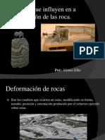 Factores Que Influyen en La Deformación de La Roca (Temperatura, Presión de Confinamiento y Tipo de Roca)
