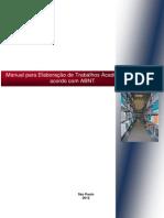Manual Para Formatacao de Trabalhos Academicos