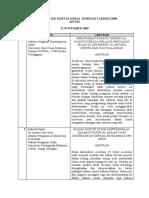 Senarai Tajuk Kertas Kerja Seminar Takhrij 2009 (Blog)