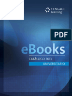 Catálogo eBooks Universitario