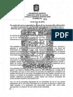Acu_2014-001 Suspencion de Acuerdos 008 y 009 de 2013