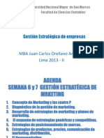 Semana 6 y 7 Gestion Estrategica de Marketing