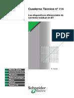 CT-114 Los Dispositivos Diferenciales de Corriente Residual e