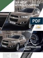 Chevrolet Captiva 2013 de De