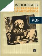 Heidegger, Martin - Kant y El Problema de La Metafísica