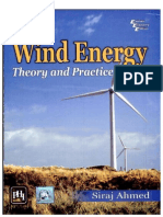 Wind Energy _ Theory and Practice, 1_e