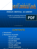 Basic Mechanism of Craniofacial Growth / orthodontic courses by Indian dental academy