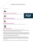 15 Beneficii Ale Uleiului de Menta Pentru Sanatate