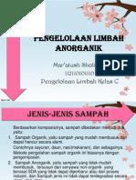 8. Pengelolaan Limbah Anorganik