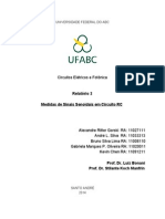 Circuitos Elétricos e Fotônica - Relatório 2