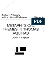 Wippel J. -Metaphysical Themes in Thomas Aquinas