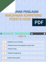Pedoman Penilaian Dan Model Rapor SMK